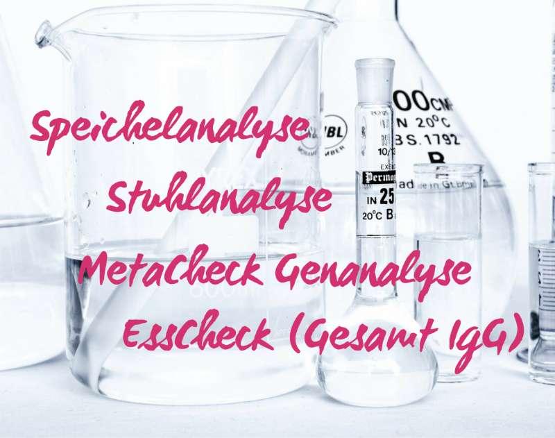Gesundheit neu erleben, Stuhlanalyse, Speichelanalyse, Metacheck